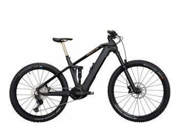 The challenge of a new e-bike era. Full-suspension mountain electric bike SONIC EVO AM 3 CARBON with a great Bosch CX 4th generation motor. The ideal model for sports without any restrictions. Unique Monkey Link magnetic system.