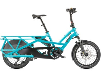 Cargo semi-folding e-bike with Bosch Cargo Line.