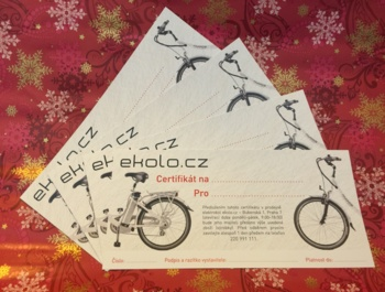 Do not know what to do with a gift? Give your beloved ekolo.cz voucher to your chosen value.