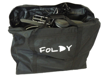 The bag is designed to transport or store any folding bicycle.