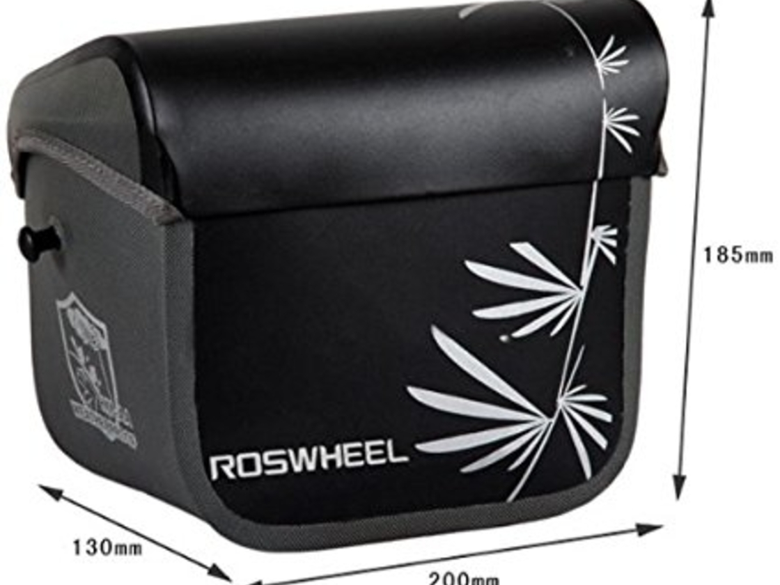 Roswheel photo cycling bag - outer dimensions, volume 3 liters